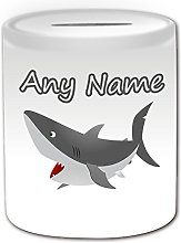 Cadeau personnalisé–Requin Tirelire (Design