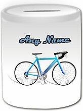 Cadeau personnalisé–Tirelire de vélo de