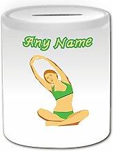 Cadeau personnalisé–Yoga Tirelire (Thème