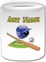 Cadeau personnalisé de Baseball Tirelire Design