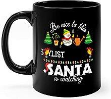 Cadeaux de tasse de Noël de styliste pour animaux