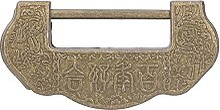 Cadenas chinois, ensemble de serrures sculptées