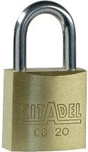 Cadenas FRANCE - Citadel CB20 laiton en 20 mm -