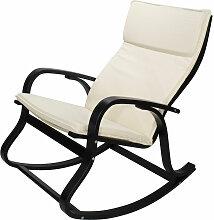 Cadentro - Fauteuil / Chaise à bascule BEIGE/NOIR