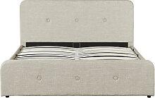 Cadre de lit BALA avec sommier relevable à lattes