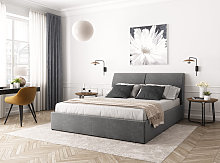 Cadre de lit LIO avec coffre et sommier à lattes