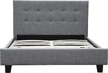 Cadre de lit REX avec tête de lit et sommier à