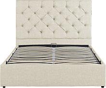 Cadre de lit RITA avec coffre et sommier à lattes