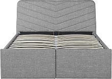 Cadre de lit TINA avec rangements et sommier