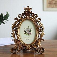 Cadre de Photo rétro Antique, porte-Photo cadres