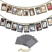 Cadre Photo en bois, 10 pièces, DIY, porte-Photo,