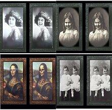 Cadre photo fantôme, règle lenticulaire 3D,