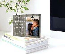 Cadre Photo personnalisé en bois, décoration de