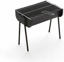 CAESAROO Barbecue à charbon de bois portable Lyon