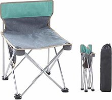 CAIJINJIN Chair de camp pliant Chaise pliante Gris
