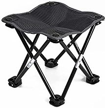 CAIJINJIN Chair de camp pliant Mini portable