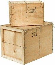 Caisse bois contreplaqué Mussy® - Paquet de 10