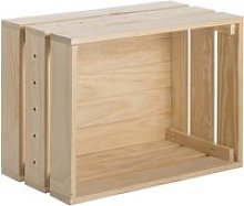 Caisse en pin massif modulable home box grande