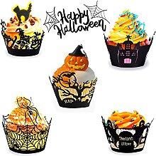 Caissette Cupcake, Cupcake Wrappers en Papier Pour