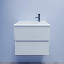 Caisson simple vasque 60 - Blanc brillant - Rosaly