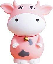 CAIZHHU Tirelire cochon en forme de dessin animé