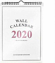 Calendrier familial 2019/2020 - Grand calendrier