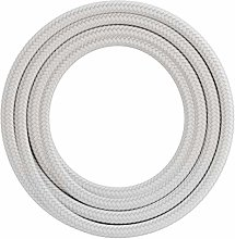 Calex Cordon en textile 60 W 250 V Blanc 3 m