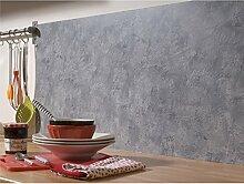 CALITEX Rouleau adhésif décoratif, Gris, 45 X
