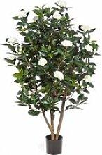Camélia Japonica artificiel, 1000 feuilles, 32