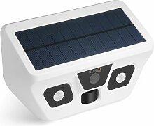 Caméra solaire d'extérieur FullHD avec