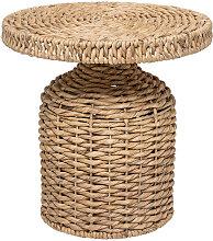 Camo - Table d'appoint en jacinthe d'eau