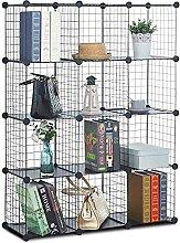 CAMORSA Armoire de Rangement 12-Cube Organisateur,