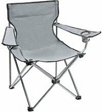 Camping ce fauteuil pliant est très pratique pour