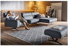 Canapé angle chaise longue droite a pure
