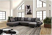 Canapé d'angle panoramique méridienne +
