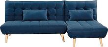 Canapé d'angle scandinave JOANA réversible