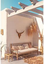 Canapé de jardin en bambou Nui Bambou Sklum