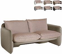 Canapé de jardin intérieur et extérieur design