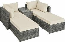 Canapé de jardin SAN DOMINO 4 Places modulable en
