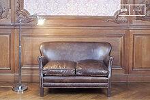 Canapé en cuir du Professeur Turner