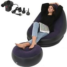 Canapé gonflable, pièce de loisirs, canapé
