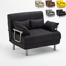 Canapé-lit convertible en tissu Deborah Twin |