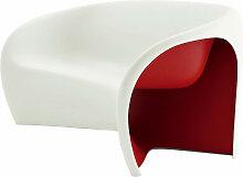 Canapé MT2 de Driade, Rouge