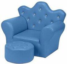 Canapé pour enfant mini canapé princesse en pvc
