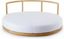 Canapé rond Pevero / Îlot - Ø 160 cm / Teck -