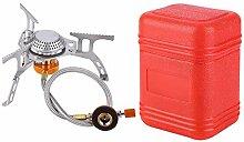 Canghai Réchaud à gaz portable de camping 3500 W