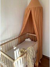 Canopée en coton pour bébé, moustiquaire,
