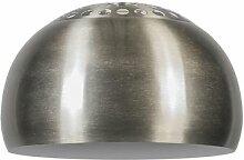 Capsule ronde en acier 33/20 - Globe terrestre