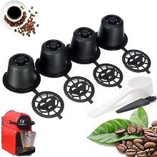 Capsules de café réutilisables, filtre Portable