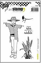Carabelle Studio Cling Stamp Art Tampon Kit Tampon